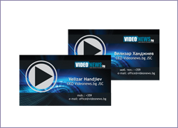 Visiting card - VideoNews.bg